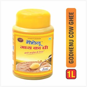 Godhenu Cow Pure Desi Ghee 1 L (Pack of 1)
