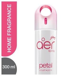 Godrej Aer Home Air Freshener Spray Petal Crush Pink 300 ml