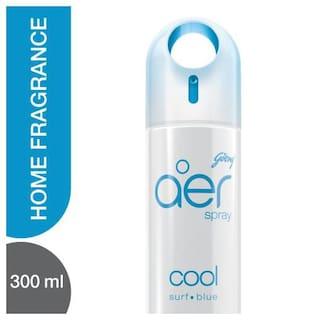 Godrej Aer Home Air Freshener Spray Cool Surf Blue 300 ml