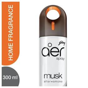 Godrej Aer Home Air Freshener Spray Musk After Smoke 300 Ml