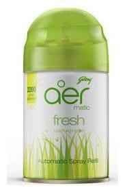 Godrej Matic - Refill, Fresh Lush Green, Spray 225 ml