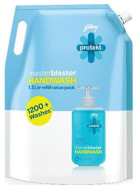 Godrej Protekt Handwash - Masterblaster  Refill 1.5 L