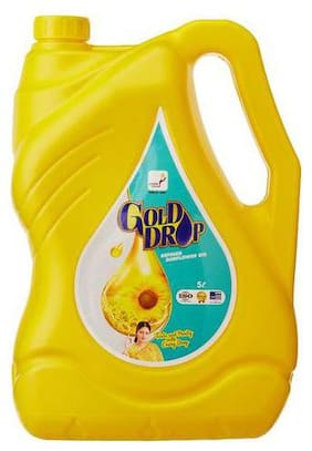 Gold Drop  Refined Sunflower Oil 5 L