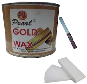 Gold Wax +90 Wax Stripes +Applicator Waxing Kit 600 g Pack of 3