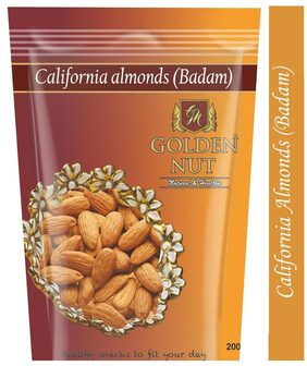 Golden Nut Almonds 200g