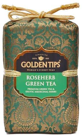 Golden Tips Rose Herb Green Tea 100 g
