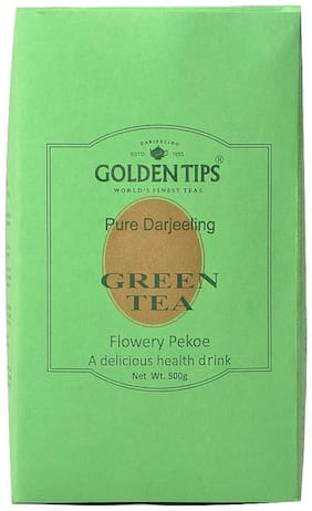 Golden Tips Darjeeling Green Tea - Paper Pack, 500g