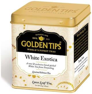 Golden Tips White Exotica Tea - Tin Can, 25g