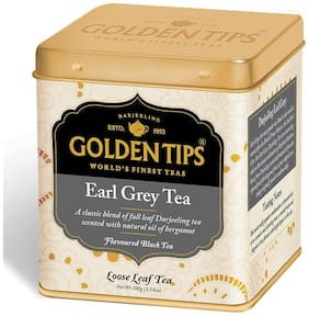 Golden Tips Earl Grey Tea - Tin Can, 100g