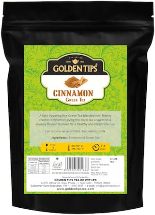 Golden Tips Cinnamon Green Tea (100g)