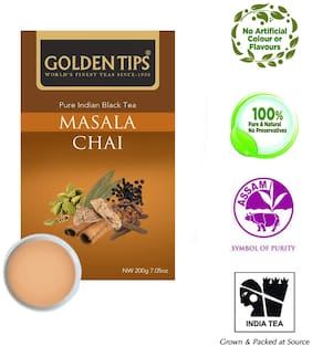 Golden Tips Masala Tea Bag Chai 200 g