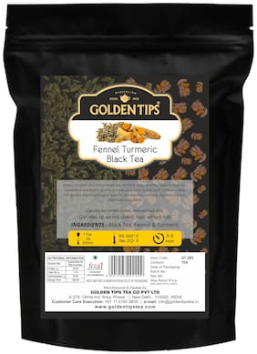 Golden Tips Fennel Turmeric Ginger Black Tea (100gm)