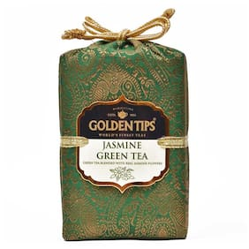 Golden Tips Jasmine Green Tea - Brocade Bag, 200g