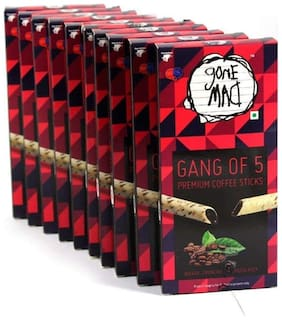 Gone Mad Premium Coffee Gang 20 g (Pack of 10)