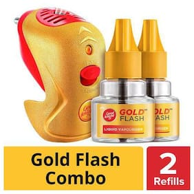 Good knight Gold Flash - Mosquito Repellent Combo Machine & Refill 72 g
