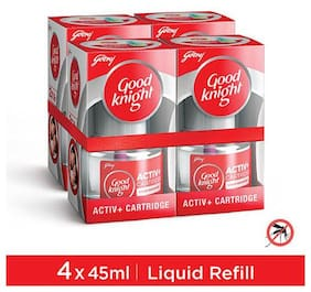 Good knight Activ+ Refills  (pack of 4, 45 ml each)