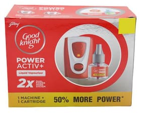 Good knight Activ+ Twin Saver Value Pack 45 ml (Pack Of 2)