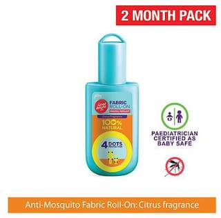 Good knight Fabric Roll On Personal Repellent - Citrus Fragrance 8 ml
