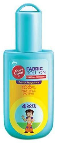 Good knight Fabric Roll On - Fruity Fun Fragrance, Chota Bheem 8 ml