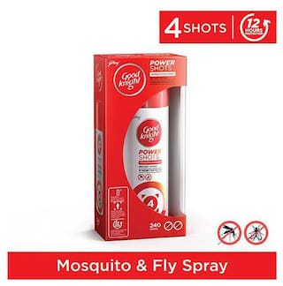 Good knight Advanced Power Shots Mosquito & Fly Spray 20 gm