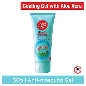 Good knight Cool Gel - Personal Mosquito Repellent Gel with Aloevera 50 gm