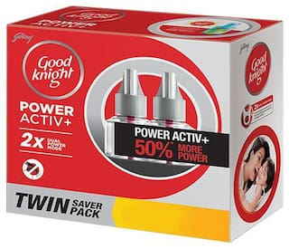 Good knight Activ+ Twin Saver Value Pack 45 ml