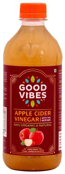 Good Vibes Apple Cider Vinegar - With The Mother 473 ml