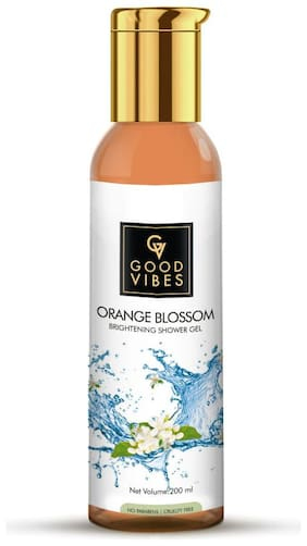 Good Vibes Brightening Shower Gel - Orange Blossom 200 ml (Pack Of 1)