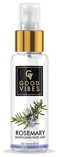 Good Vibes Energizing Face Mist - Rosemary (50 ml) (Pack of 1)