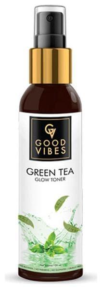 Good Vibes Glow Toner - Green Tea 120 ml (Pack Of 1)