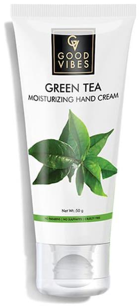 Good Vibes Moisturizing Hand Cream - Green Tea (50 g)