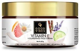 Good Vibes Nourishing Face Cream - Vitamin E (50 g) (Pack of 1)