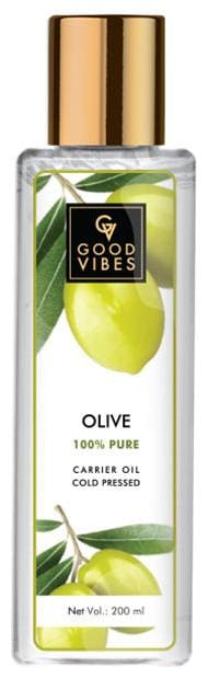 Good Vibes Olive Carrier Oil Cold Pressed (200 ml)