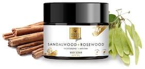 Good Vibes Plus Moisturizing + Anti-Tan Body Scrub - Sandalwood + Rosewood 50 g (Pack Of 1)