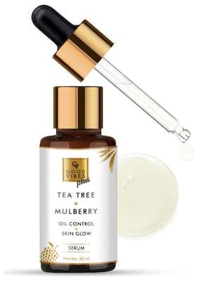 Good Vibes Plus Skin Glow + Oil Control Serum - Tea Tree + Mulberry (30 ml)