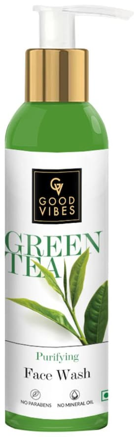 Good Vibes Purifying Face Wash - Green Tea (120 ml)