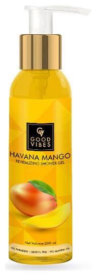 Good Vibes Revitalizing Shower Gel - Havana Mango 200 ml (Pack Of 1)