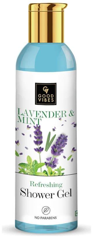Good Vibes Refreshing Shower Gel - Lavender & Mint (200 ml)