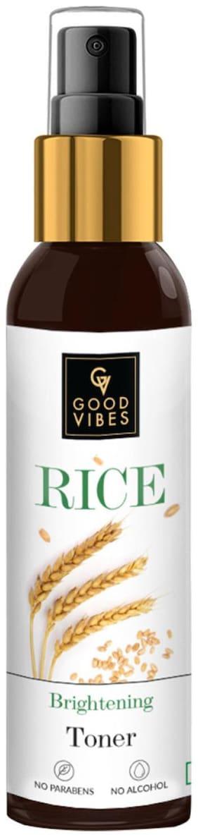 Good Vibes Rice Brightening Toner (120ml)