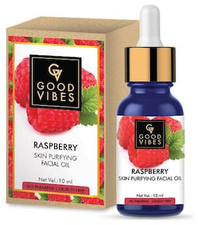 Good Vibes Skin Purifying Facial Oil - Raspberry 10 ml (Pack Of 1)