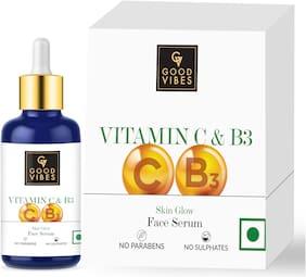 Good Vibes Skin Glow Serum - Vitamin C & Vitamin B3 (30 ml)