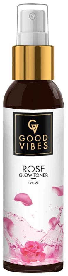 Good Vibes Toner - Rose Glow 120 ml (Pack Of 1)