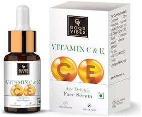 Good Vibes Vitamin C & E Age Defying Face Serum (10 ml)