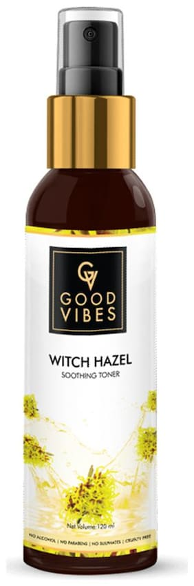Good Vibes Witch Hazel Soothing Toner 120 ml (Pack Of 1)