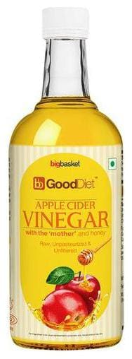GoodDiet Apple Cider Vinegar With Mother & Honey 500 ml