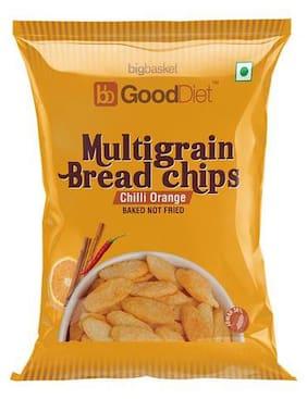 GoodDiet Multigrain Bread Chips - Chilli orange 30 g