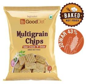 GoodDiet Multigrain Chips - Sour Cream & Onion 30 g