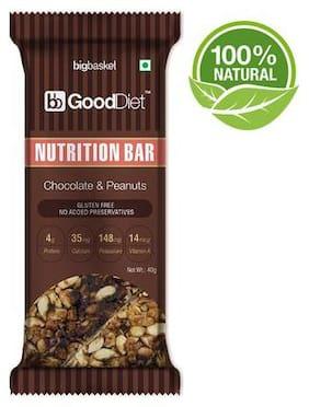 Gooddiet Nutrition Bar - Chocolate & Peanut 40 g