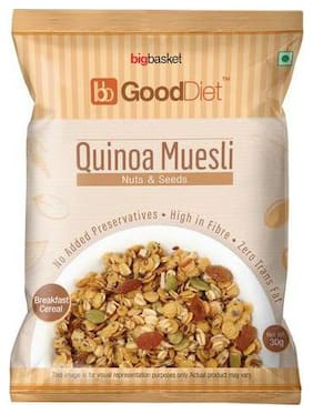 GoodDiet Quinoa Muesli - With Nuts & Seeds 30 g