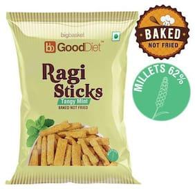 GoodDiet Ragi Sticks - Tangy Mint 30 g